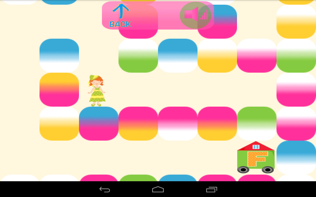 ABC Maze of Princesses- screenshot