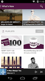 WiMP Screenshot 1