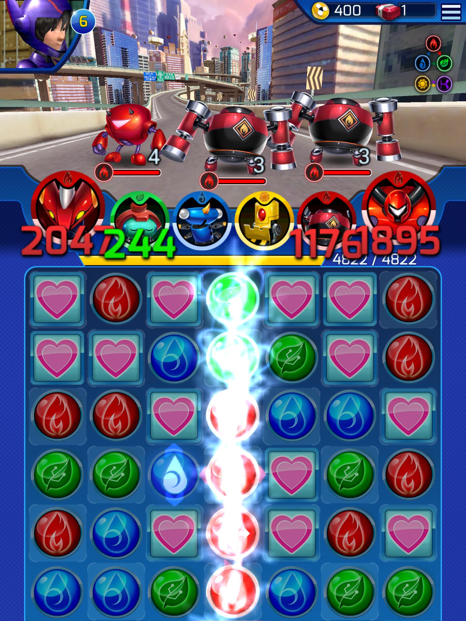Big Hero 6 Bot Fight screenshot #6