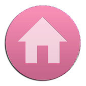 VM9 Pink Glass Icons