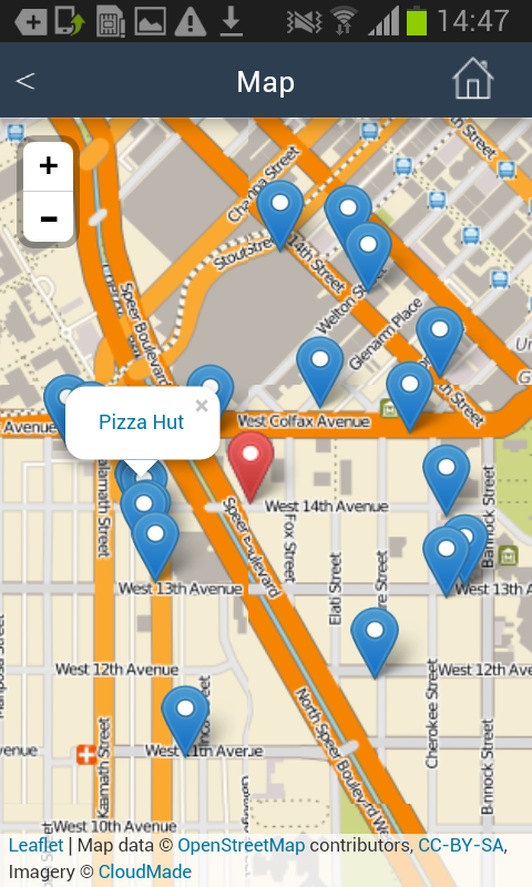 Near Me Restaurants Fast Food Google Play Store revenue