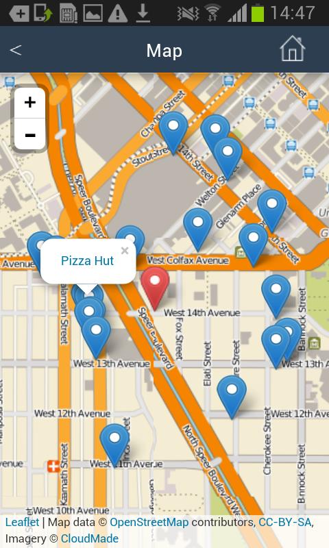 Near Me Restaurants Fast Food Google Play Store Revenue - Us map of fast food restaurants