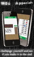 Screenshot of 100 Exits by Apperleft