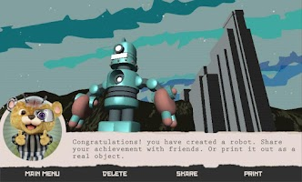 Screenshot of Dr. Fluff's Robot Factory