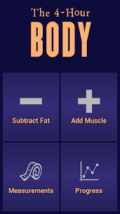 The Official 4-Hour Body App- screenshot thumbnail