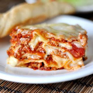 Classic Italian Lasagna.