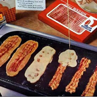 Bacon Strip Pancakes.