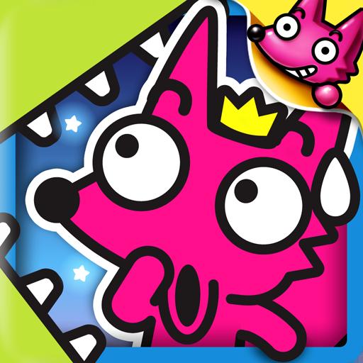 教育のおしゃべりキツネのフォン: Talking Fong LOGO-記事Game