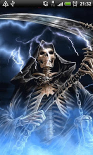 Like Skulls Grim Reapers And Fire Flames Download This Live Wallpaper Watch Hell Break Loose With The Most Realistic Ever Seen