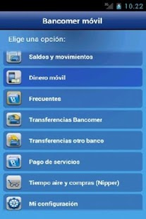 Bancomer móvil Screenshot 8