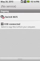 Screenshot of Switch WiFi