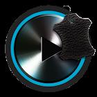 Skin for Poweramp v2 Dark Leather icon