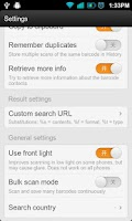 Screenshot of Barcode Scanner Handy Shopping