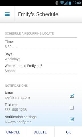Screenshots for ATT FamilyMap