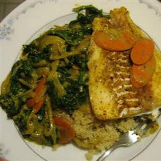 Coconut Curry Fish.