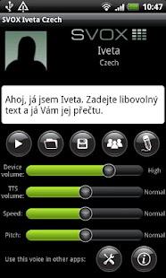 SVOX Czech Český Iveta Voice