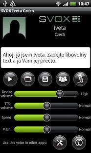 SVOX Czech/Český Iveta Voice- screenshot thumbnail