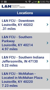 L&N FCU Mobile Banking - screenshot thumbnail