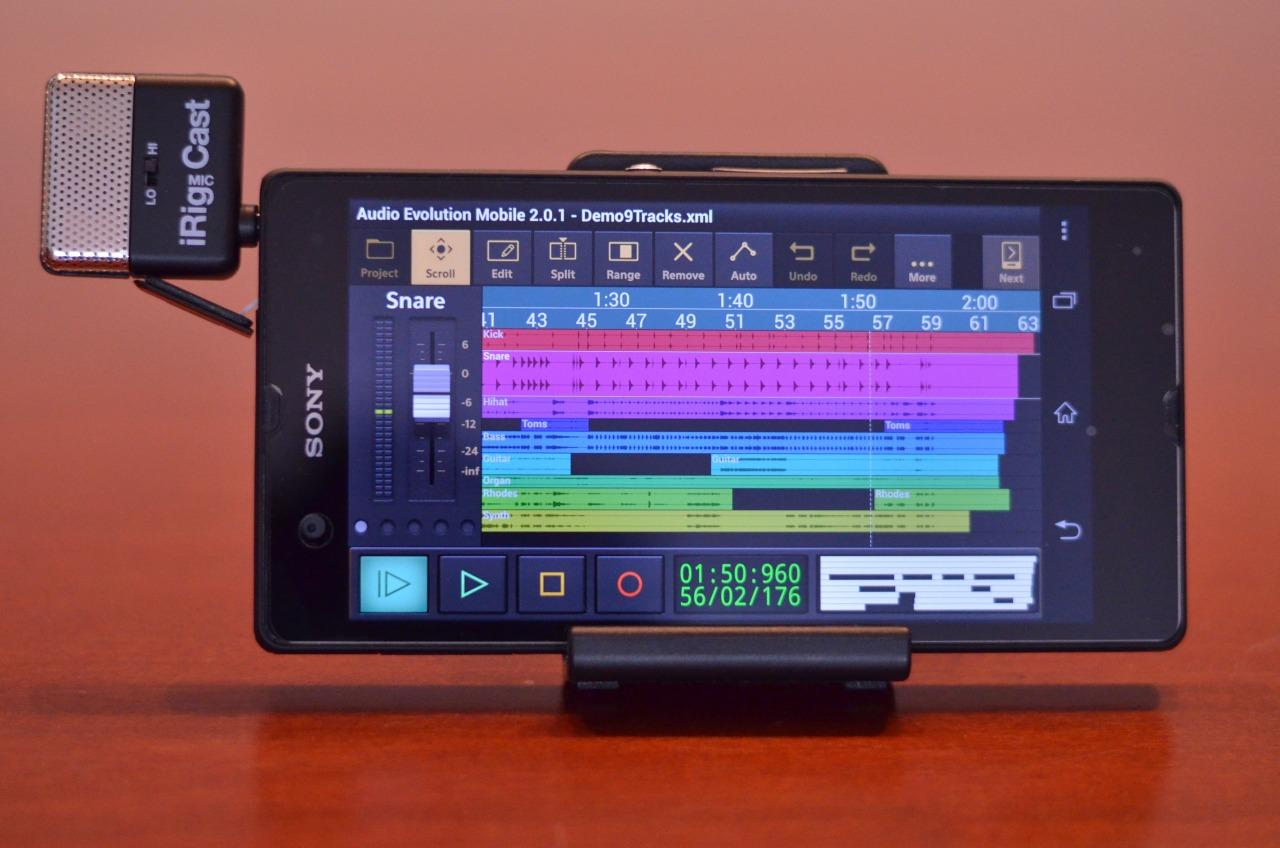 Audio Evolution Mobile Studio - screenshot