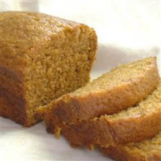 Holiday Pumpkin Bread.