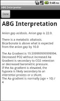 Screenshot of ABG Interpreter