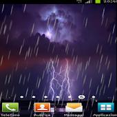 Rain Lightning Live Wallpaper