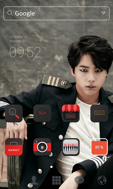 BTS Jin LINE Launcher theme - Android Apps on Google Play