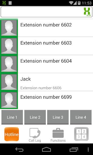 【免費通訊App】XBLUE X-25 Softphone-APP點子