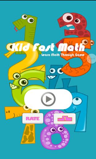 Kid Fast Math