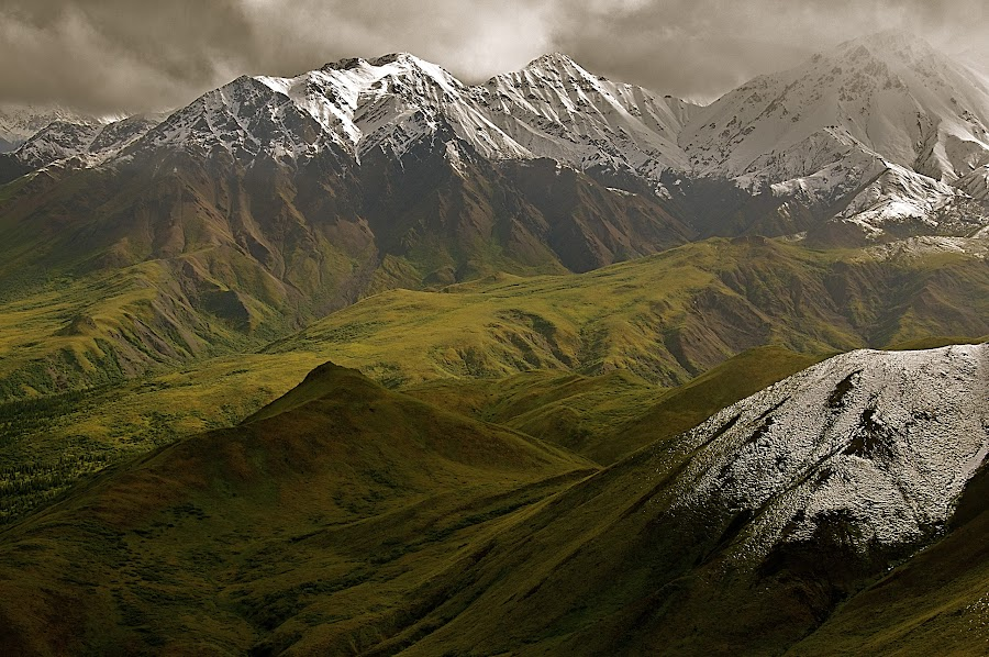 Wuthering Heights by Marco Parenti - Landscapes Mountains & Hills ( mountains, alaska, landscape, usa )
