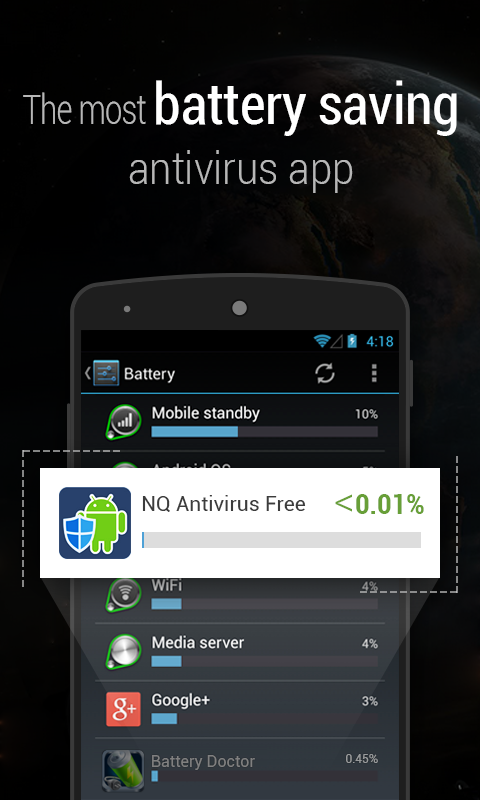 Antivirus Free-Mobile Security - screenshot