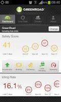 Screenshot of GreenRoad Central Mobile