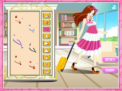 Beautiful stewardess dressup - screenshot thumbnail