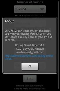 Boxing Circuit Timer- screenshot thumbnail
