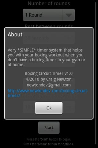 Boxing Circuit Timer - screenshot