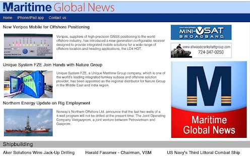 Maritime Global News- screenshot thumbnail