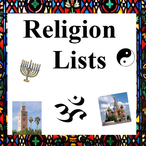 Religion Lists
