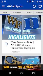 ACC Sports - screenshot thumbnail