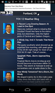 Fox 12 Wx- screenshot thumbnail