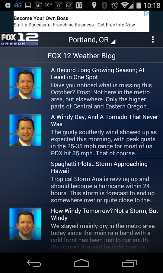 Fox 12 Wx- screenshot