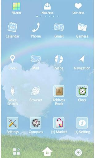 HAPPY RAINBOW Wallpaper Theme 1.6 Windows u7528 3