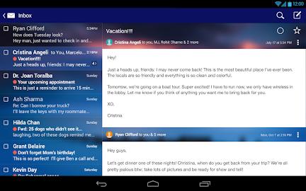Yahoo Mail – Free Email App Screenshot 2