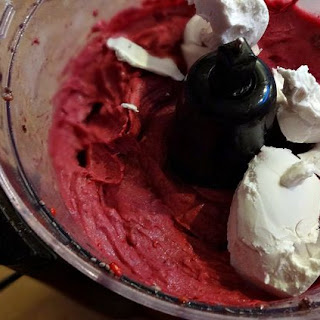 Overnight Vegan Raspberry Ice Cream