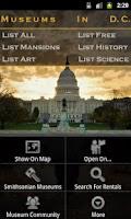 Screenshot of Museums In Washington DC