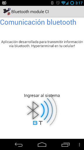 Bluetooth microcontrolador