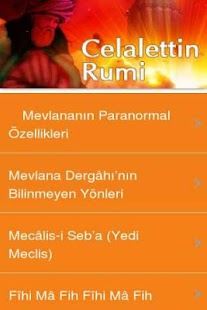 Celalettin Rumi - screenshot thumbnail