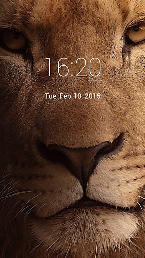 【免費個人化App】Lion Lock Screen-APP點子