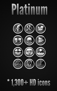 Icon Pack - Platinum - screenshot thumbnail