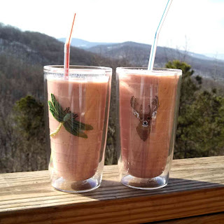 Strawberry Kiwi Smoothies