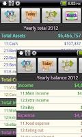 Screenshot of Easy Home Budget Book Free